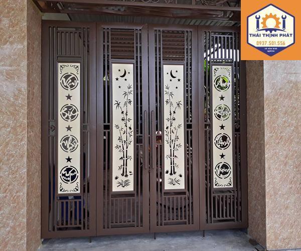 cửa cổng cắt CNC bền đẹp