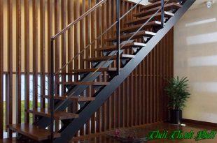 Những ưu điểm của cầu thang sắt hộp